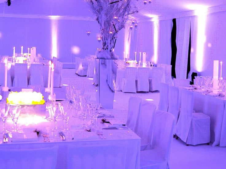 White wedding theme google zoeken projecten om te for All white party decoration