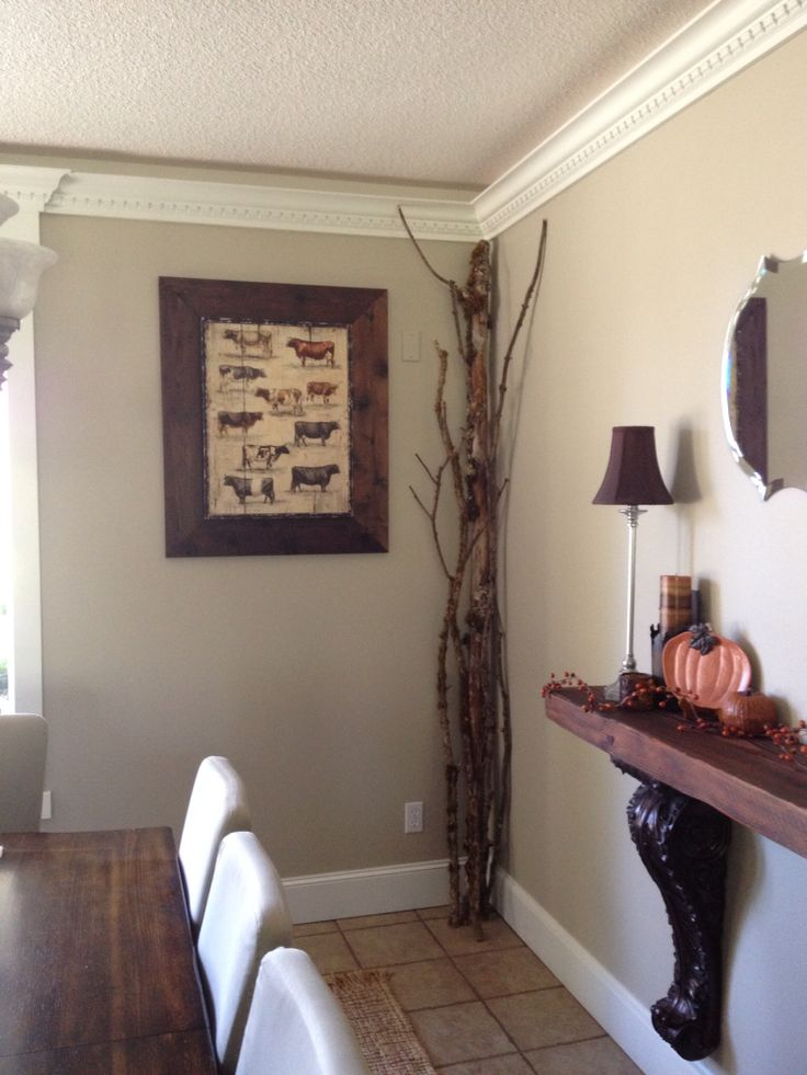 Wall color behr castle path color matched by miller - Behr vs sherwin williams interior paint ...