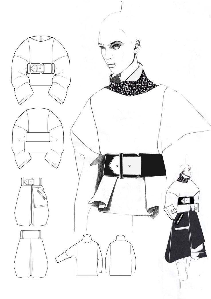 Fashion Portfolio - fashion design drawings; collection development; fashion illustration; fashion sketchbook // Andrew Voss sketchbook, fashion, textiles, art, design, sketchbook idea, inspiration, creative
