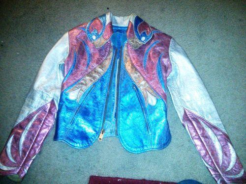 Glam Rock East West Musical Instruments Parrot Jacket (via redreedwalker, eBay)