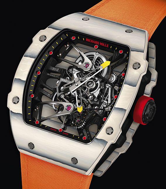 La Cote des Montres : La montre Richard Mille RM 27-02 Tourbillon Rafael Nadal - La nouvelle performance