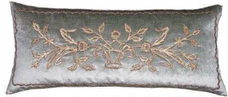 Antique Ottoman Empire Raised Gold Metallic Embroidery.