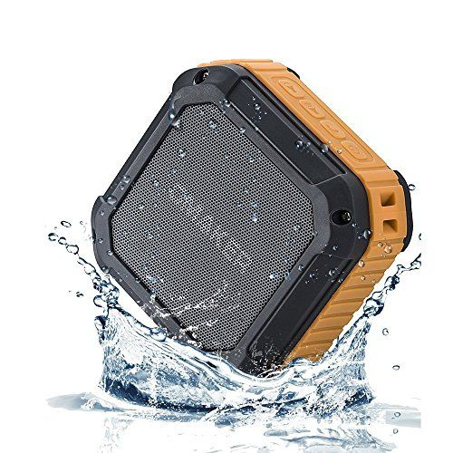 [Best Outdoor&Shower Bluetooth Speakers Ever] Omaker M4 Portable Bluetooth 4.0 Speakers with 12 Hour Playtime for Outdoors/Shower