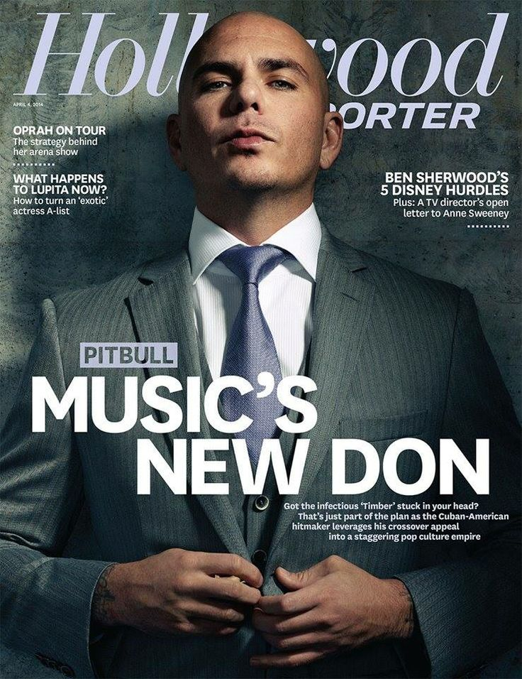 Pitbull is on the cover of the latest edition of The Hollywood Reporter! Check out his interview here: http://www.hollywoodreporter.com/news/power-pitbull-timber-rapper-reveals-691054