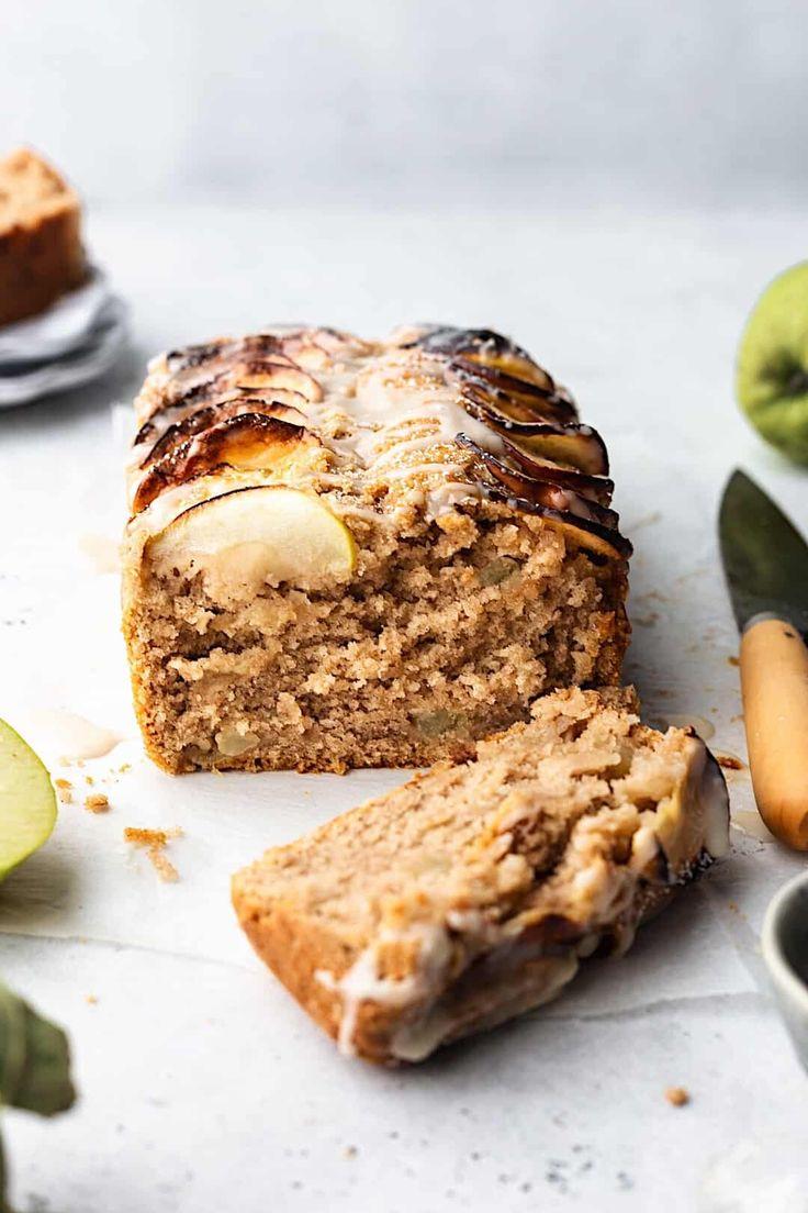 Vegan Cinnamon Apple Loaf Cake #Kuchen #vegan #Apfel #Rezept #Fall #Backen   – Delicious   Monicà Zahova