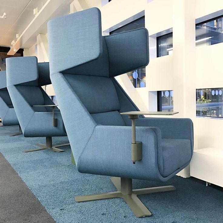 We could get a lot of work done in this @buzzispace BuzziMe #chair at the Chalmers University library in #Sweden. 💙
