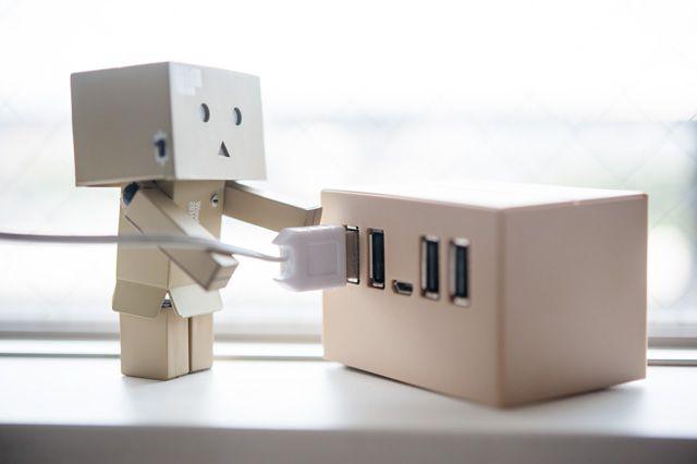 Danboard USB Hub  ダンボーUSBハブ