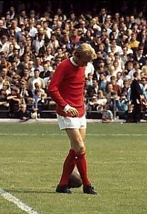 Denis Law Manchester United 1970