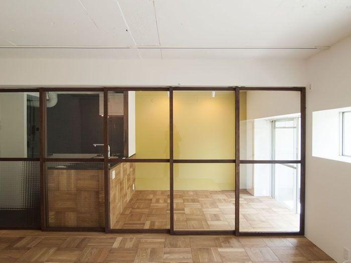 木製ガラス引き戸 pinup吉祥寺_01a