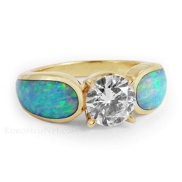 1000 Images About Opal Wedding Rings Ideas On Pinterest