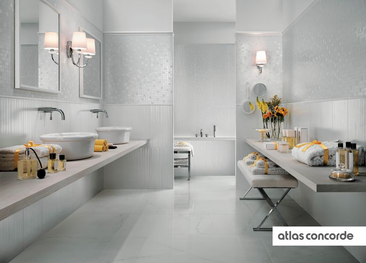 #RADIANCE   #White   #AtlasConcorde   #Tiles   #Ceramic
