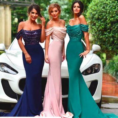 Off shoulder bridesmaid dresses, Sexy Mermaid bridesmaid dresses, Long bridesmaid dresses, long bridesmaid dresses, Sexy bridesmaid dresses, 17036