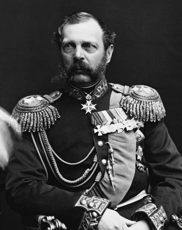 Alexander II. Nikolajewitsch(russischАлекса́ндр II Никола́евич; * 17.jul./29.April1818greg.inMoskau; † 1.jul./13.März1881greg.inSankt Petersburg) war 1855 bis 1881Kaiser[1]vonRusslandaus dem HausRomanow-Holstein-Gottorp. Er war Prinzessin Marie von Hessen-Darmstadt verheiratet.