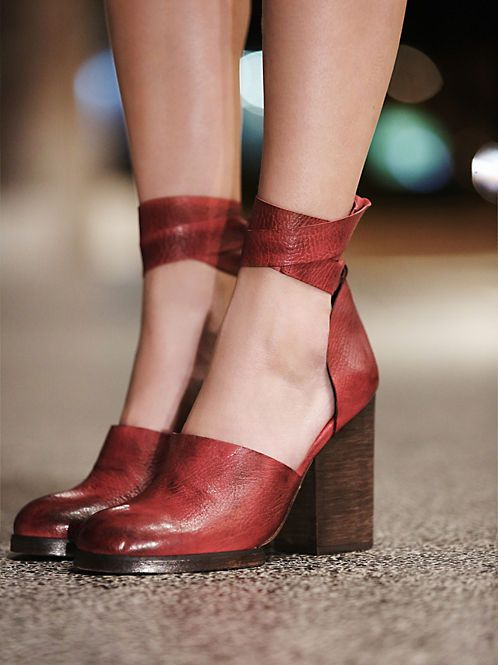 Jeffrey Campbell Deep V Ankle Boot at Free People Clothing Boutique