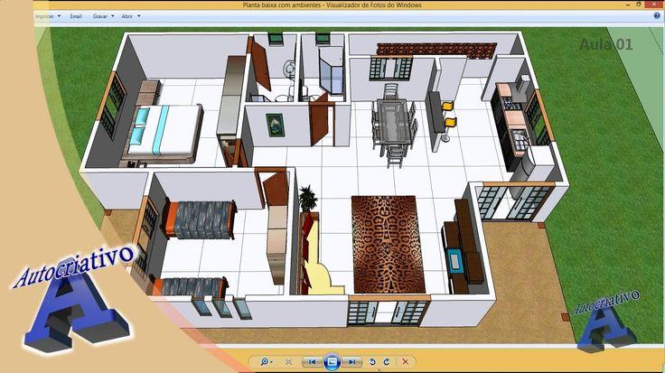 Curso de SketchUp - Aula 01/20  - Módulo Básico - Autocriativo