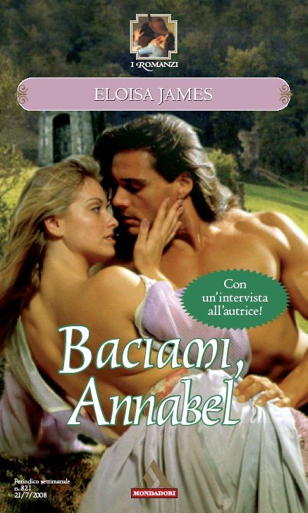 821 ELOISA JAMES: Baciami, Annabel   RomanticaMente
