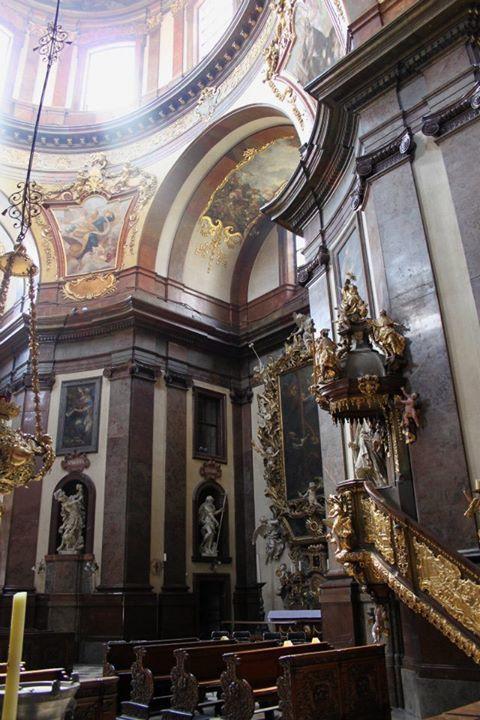 Church in Prague (sv. Frantisek)
