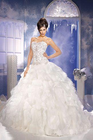 Robe de mariée KS-156-03-A de Kelly Star - Mariee.fr