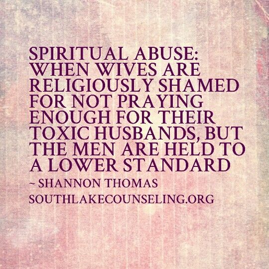 #spiritual #abuse When a person is religiously shamed for not praying enough for their toxic person, but the toxic person is held to lower standards.