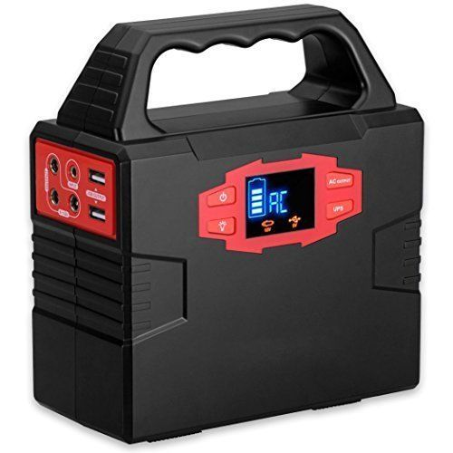Portable Generator Power Inverter Battery Pack UPS Power Supply Charged by 100W #PortableGenerator