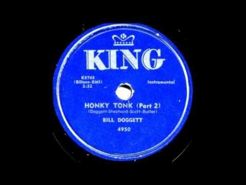 Honky Tonk  Part 1 & Part 2    Bill Doggett 1956 King 45     4950