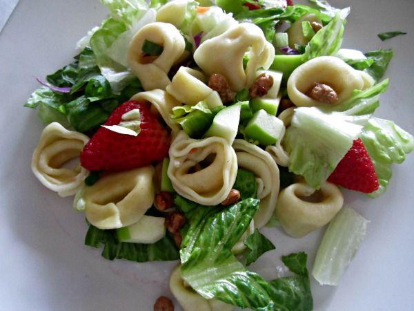 Tortellini Apple Salad- Perfect for Summer!