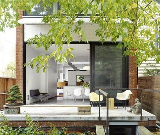22 Ideen für städtisches Garten Design: wie den kleinen Raum gestalten