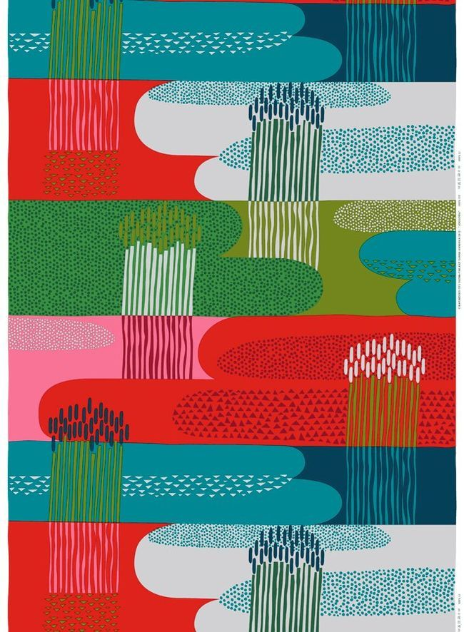 Marimekko - could look amazing as a cushion or on one of my footstools