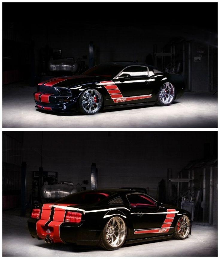 Bad-ass 2009 Mustang GT570R