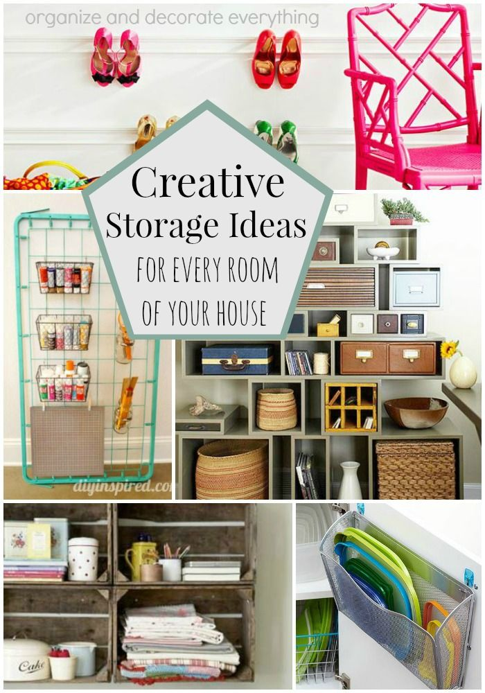 Creative Storage Ideas for Every Room of Your House | Organize ...