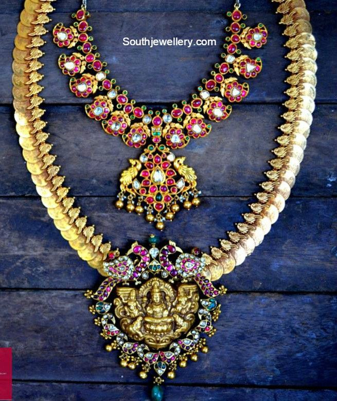 Kundan Mango Necklace