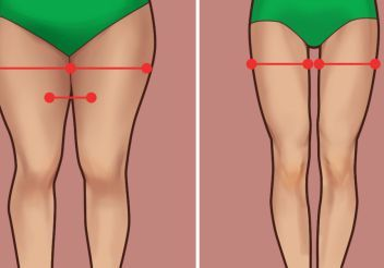 How To Burn Thigh Fat (Video)