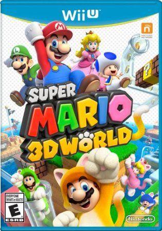 Super Mario 3D World - Nintendo Wii U - Leap into the first multiplayer Mario platformer set in a 3D world!