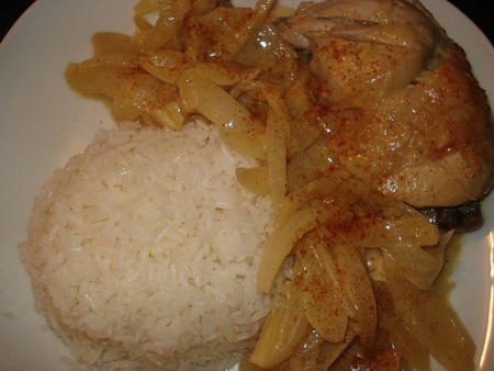 """Today's @Kwanzaa White Culinarians story is by Steven Allwood: """"I'm renewing my commitment to incorporating more of West and Central Africa into my culinary repertoire and sharing what I've learned of African food ways with others."""" Read more and get his recipe for Yassa Chicken. #Kwanzaa"""