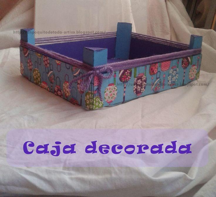 ♥ Un Poquito de Todo: caja de fresas decorada
