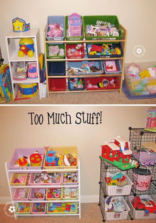 Garage Organization Ideas Toys