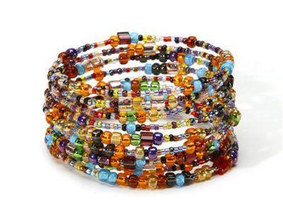 Fiesta Memory BraceletSo Pretty, Jewelry, Diy Bracelet