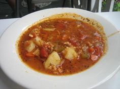 Yummy Conch Chowder to warm you up on a cold winter's day!