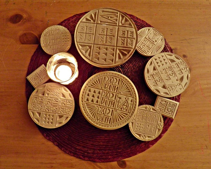 Liturgical Bread Stamps