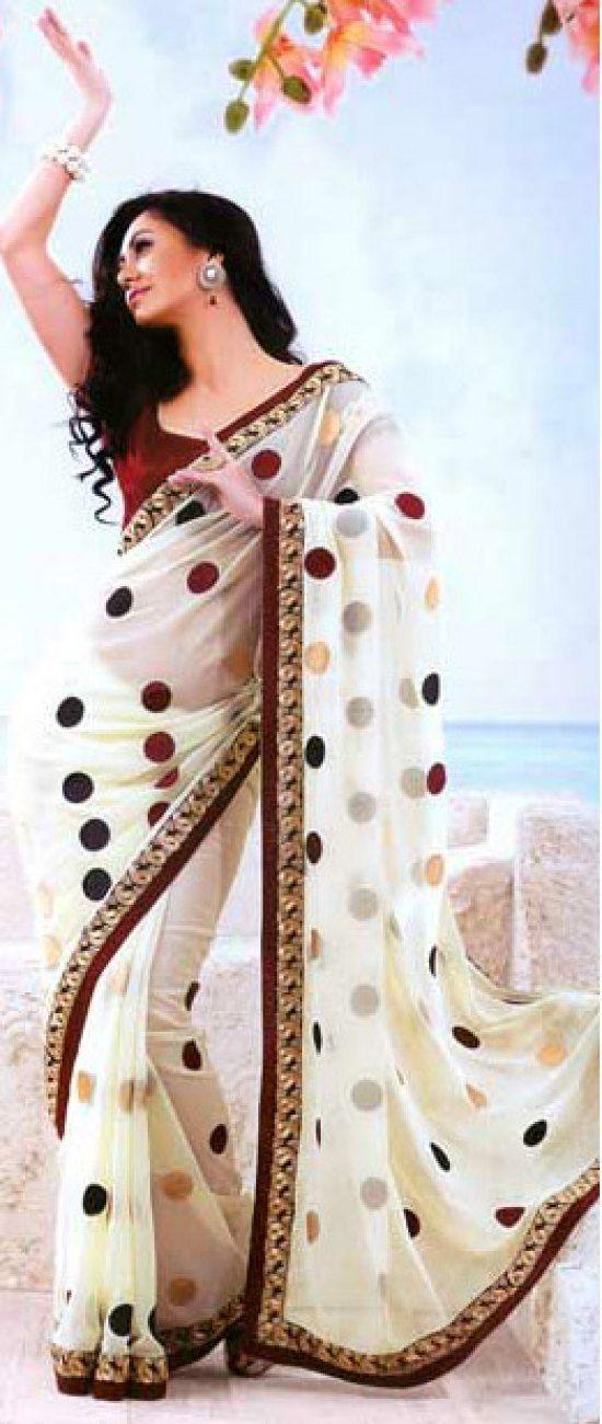 Online Saree shopping - http://www.kangafashion.com/tag/saree/