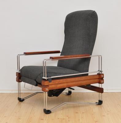 Klappbarer Sessel, 1980er 2