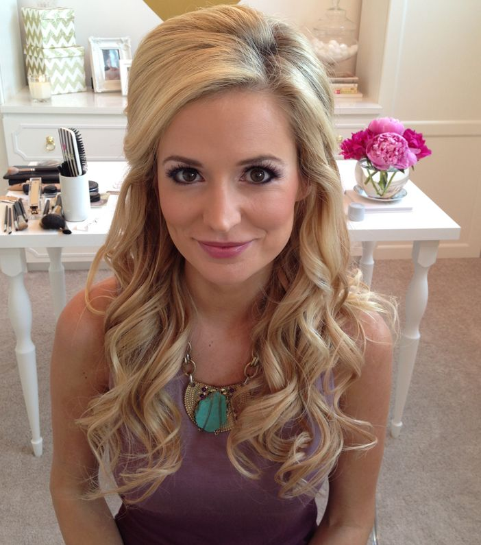 Emily Maynard wedding makeup
