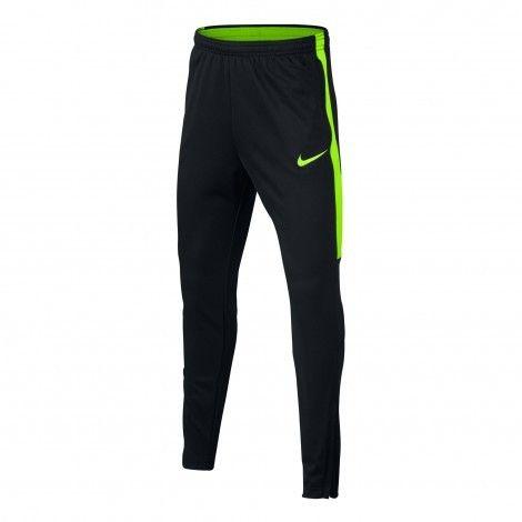 Nike Dry Academy trainingsbroek junior black electric green