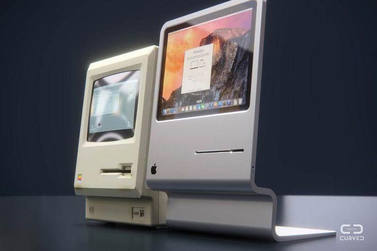 Curved Mac – Un excellent concept en hommage au premier Apple Macintosh
