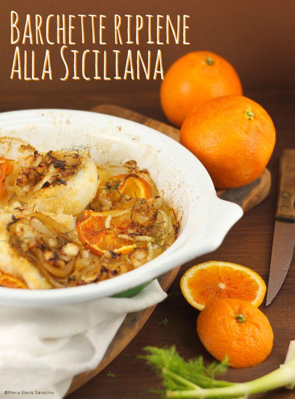 Barchette ripiene alla siciliana.