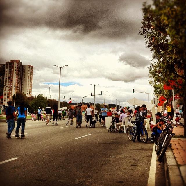 Ciclovia @ Bogota, Colombia