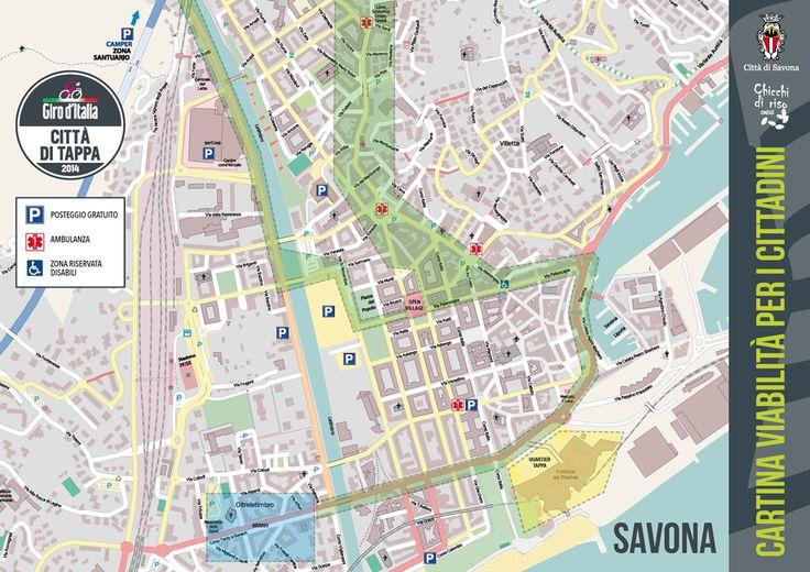 Giro d'Italia: come muoversi per Savona?
