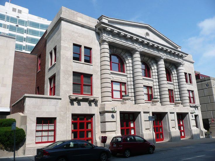 Fire Department Headquarters; Fire station No. 2 in Downtown Kansas City, Missouri.
