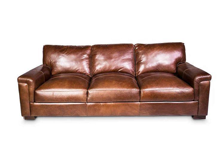 Leo Leather Sofa