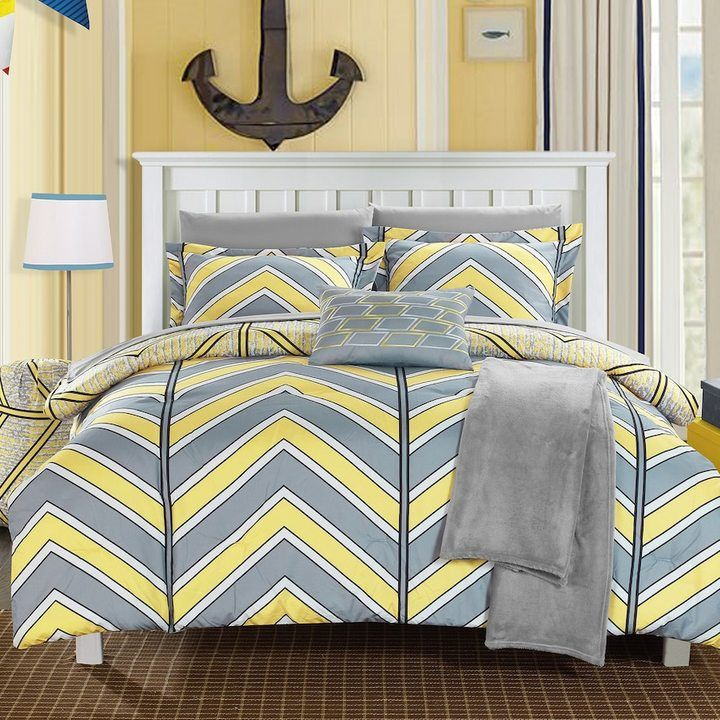 Chic Home Laredo Chevron Comforter Set